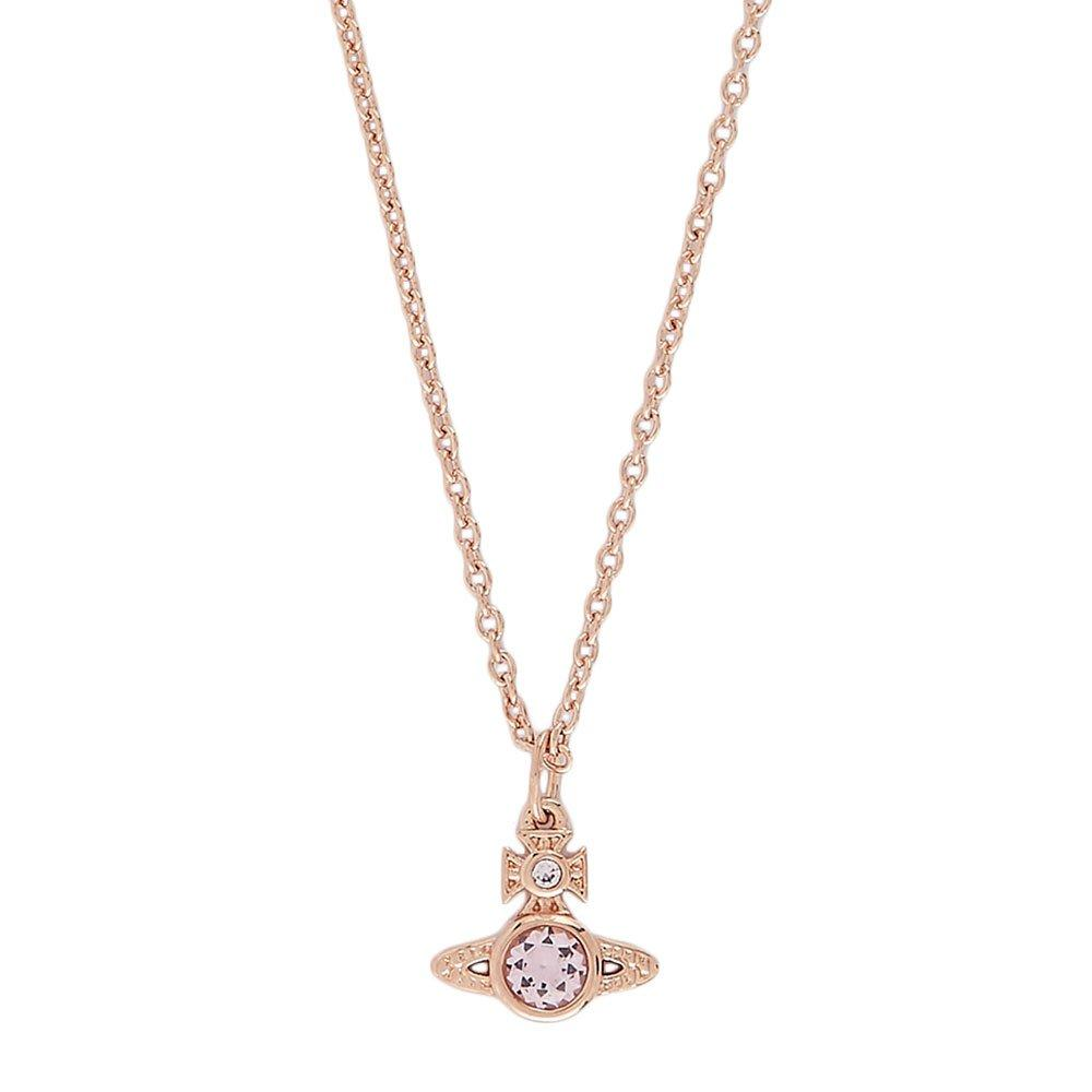 Vivienne Westwood Rose Gold Coloured London Orb Necklace