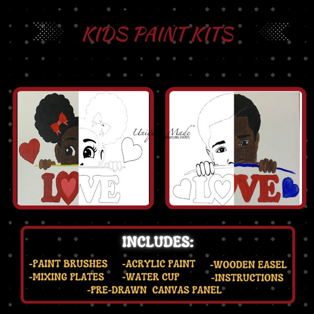 Puff & Part Paint Kit