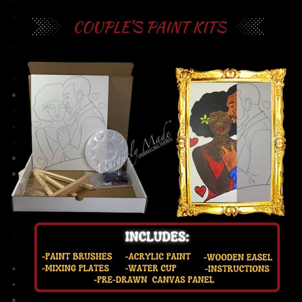 King & Queen Paint Kit