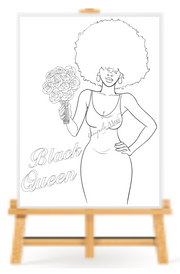 Black Queen Paint Kit