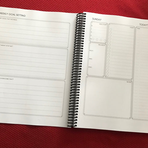 Create Your Success 12 Week Planner - pages