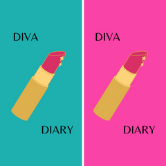 Diva Diary Lined Journal Gift Book