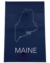 Load image into Gallery viewer, Maine Hardcover Journal Cover