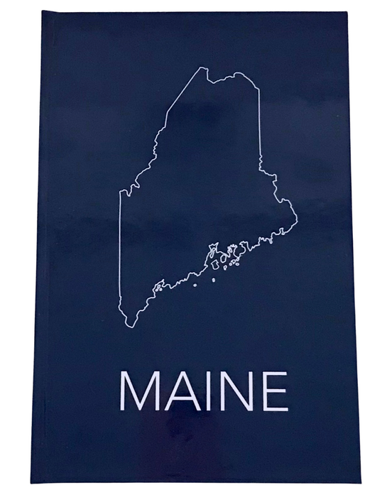 Maine Hardcover Journal Cover