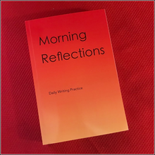Load image into Gallery viewer, Morning Reflections Daily Writing Practice Lined Journal Gift book