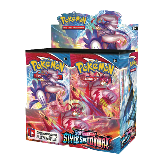 Display de 36 Boosters Pokémon Styles de Combat EB 5