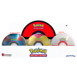 Pokeball Tin 3 boosters