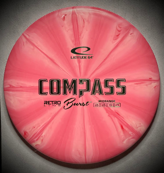 Retro Burst Compass