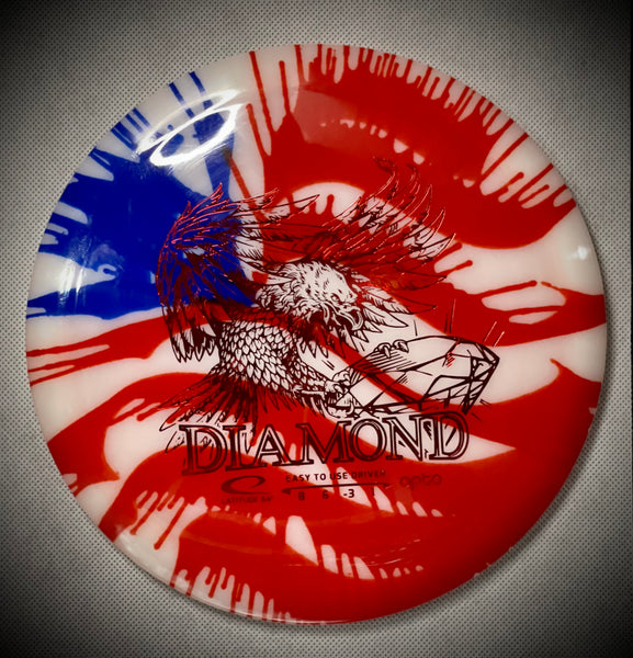 Opto Diamond MyDye American Flag