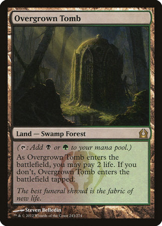 Overgrown Tomb [Return to Ravnica]