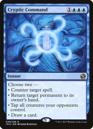 Cryptic Command [Iconic Masters]