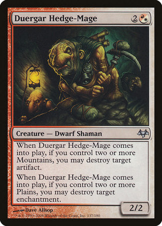Duergar Hedge-Mage [Eventide]