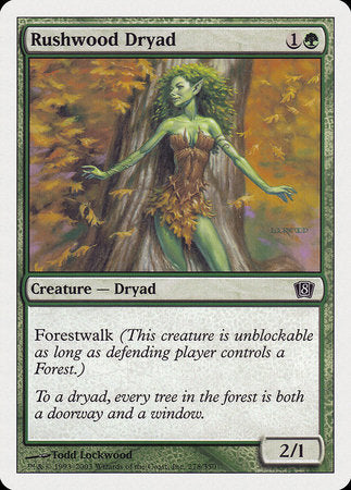 Rushwood Dryad [Eighth Edition]