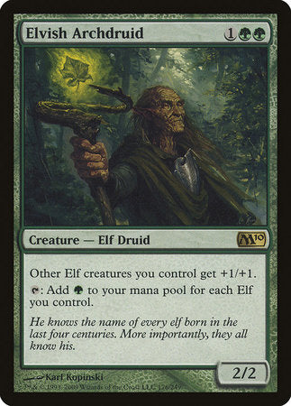 Elvish Archdruid [Magic 2010]