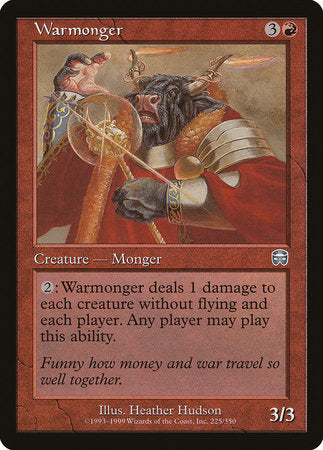 Warmonger [Mercadian Masques]