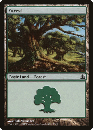 Forest (315) [Commander 2011]