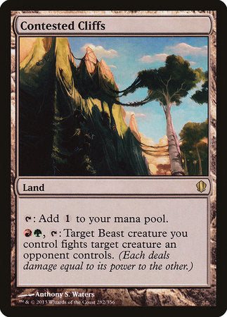 Contested Cliffs [Commander 2013]