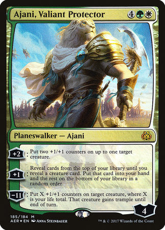 Ajani, Valiant Protector [Aether Revolt] - Good Games
