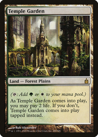 Temple Garden [Ravnica: City of Guilds]