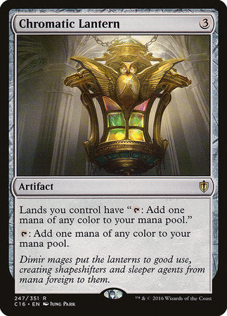 Chromatic Lantern [Commander 2016]