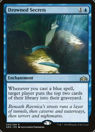 Drowned Secrets [Guilds of Ravnica]