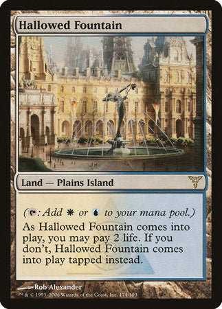 Hallowed Fountain [Dissension]