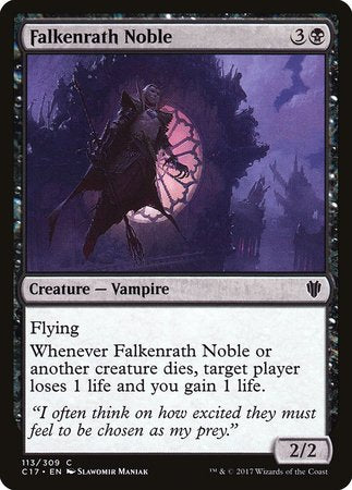 Falkenrath Noble [Commander 2017]