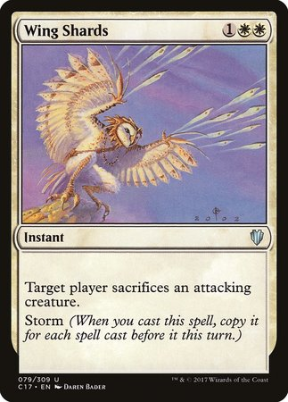 Wing Shards [Commander 2017]