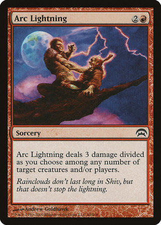 Arc Lightning [Planechase]