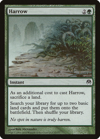 Harrow [Duel Decks: Phyrexia vs. the Coalition]