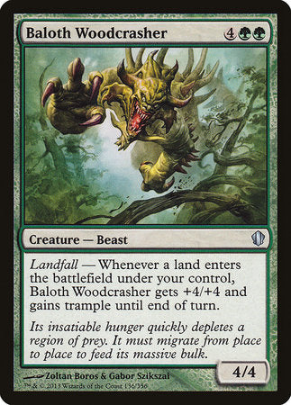 Baloth Woodcrasher [Commander 2013]