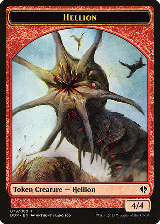 Hellion Token [Duel Decks: Zendikar vs. Eldrazi]