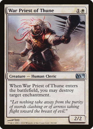 War Priest of Thune [Magic 2011]