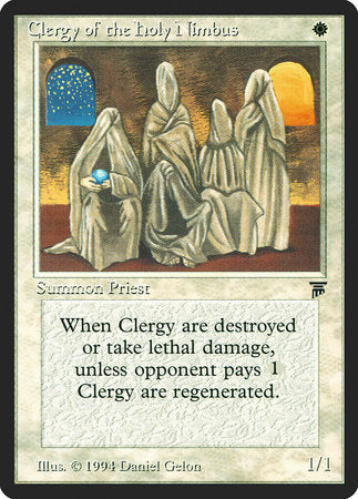 Clergy of the Holy Nimbus [Legends]