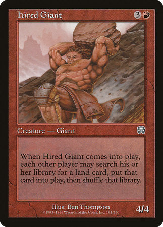 Hired Giant [Mercadian Masques]