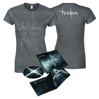 TVINNA - One In the Dark CD + Lyrics Women's T-Shirt Bundle (6109113057479)