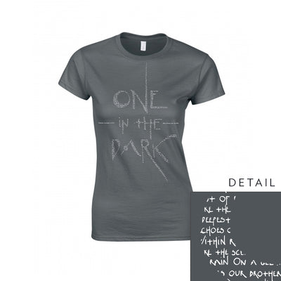 TVINNA - One In the Dark Lyrics Women's T-Shirt (6109112926407)