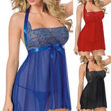 Women Sexy V Neck Lingerie Sleepwear