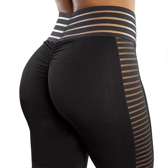 Women Bubble Butt Leggings Push Up Workout