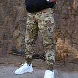 Fashion Streetwear Casual Camouflage Jogger Pants