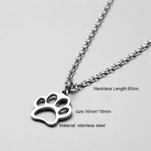 Unisex necklace stainless steel