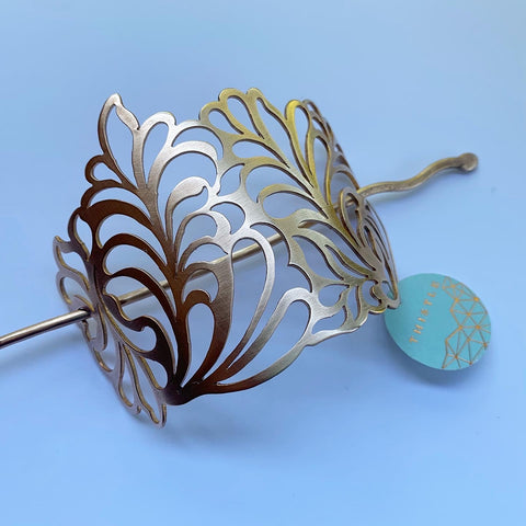BRONZE BOTANICA HAIR PIECE