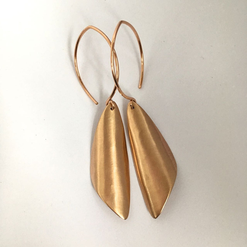 SHEER BRONZE EARRING II