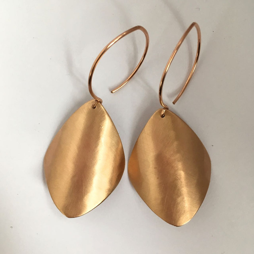 SHEER BRONZE EARRING I