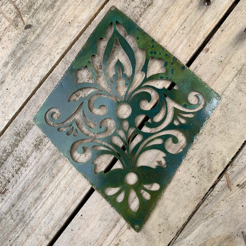 DAMASK PLAQUE