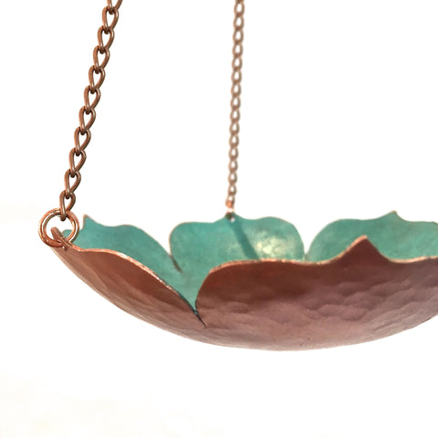 HANGING LOTUS BOWL