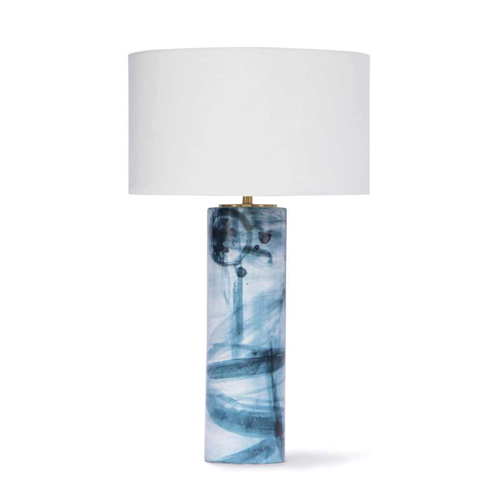 Hudson Ceramic Table Lamp lighting Regina Andrew Design