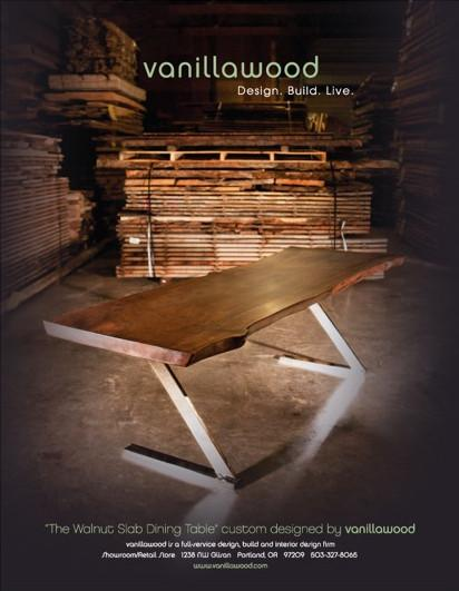 Vanillawood Walnut Slab Table  VANILLAWOOD Unknown - 3