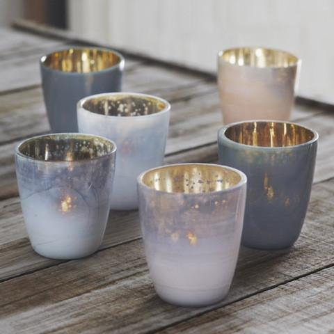Mineral Tealight Holder  ROOST candle holder - 2