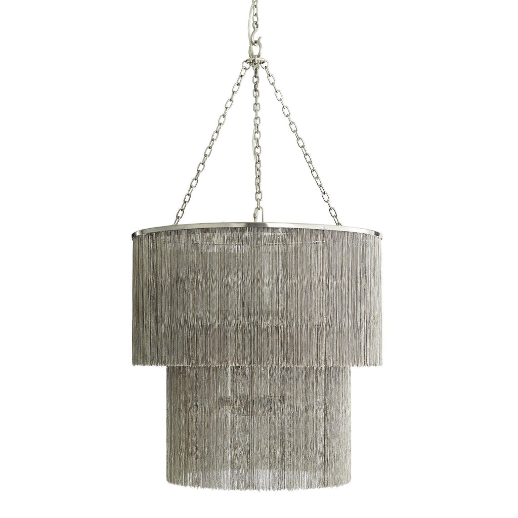 James Nickel Chain Chandelier Lighting Arteriors